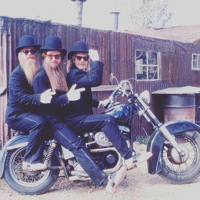 Flashbackfriday Regram Via Zztop One Week Until Zztop Rock The