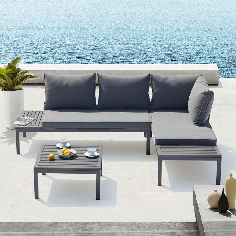 Salon De Jardin Outdoor Sofa Outdoor Sectional Outdoor Furniture