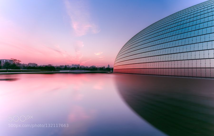 Untitled - Pinned by Mak Khalaf City and Architecture 北京国家大剧院建筑色彩 by 393732292