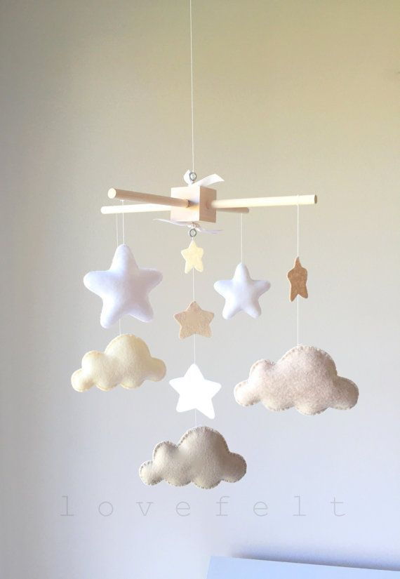 Baby Crib Mobile Baby Mobile Neutral Mobile Baby Mobile