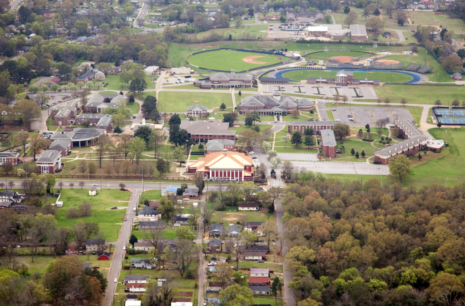 Alcorn State University Campus Map.Aerial View Stillman College Campus Hbcus Kentucky Tennessee