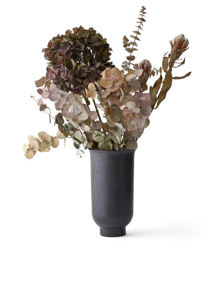 Cyclades Vase Large Black Flower Decorations Vase Flower Vases
