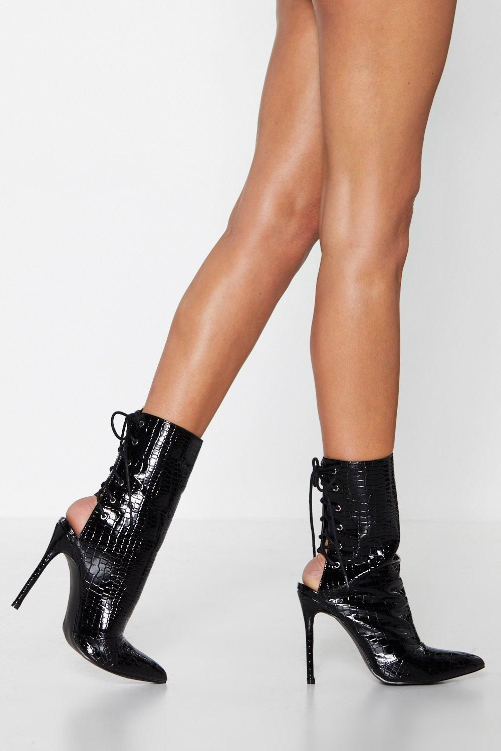 Fit to Kill Croc Boot | Shop Clothes at Nasty Gal in 2019