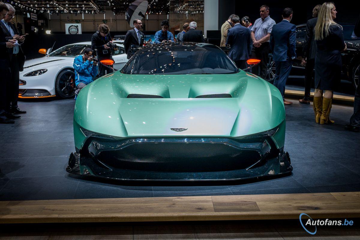 Live in Genève 2015: Aston Martin Vulcan
