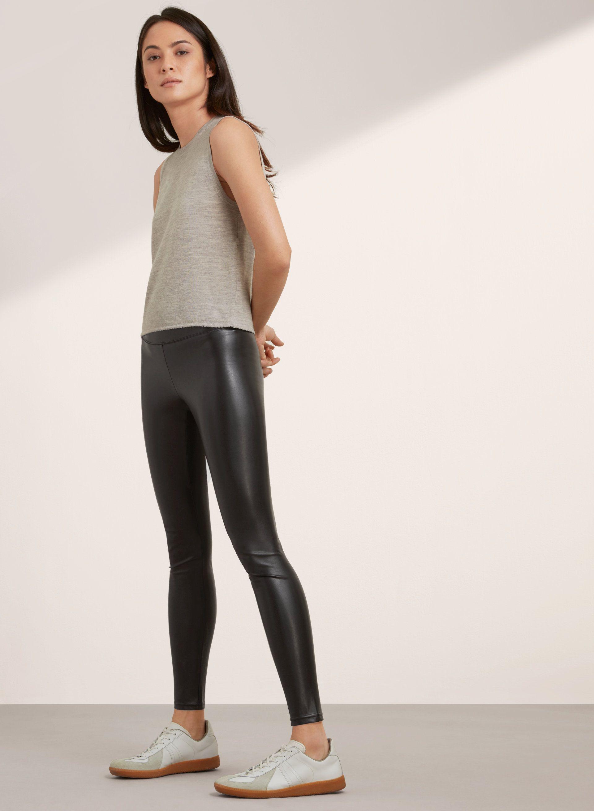 626311f75a0e0 Wilfred Free MID-RISE DARIA PANT | Aritzia | ASAP | Pants, Leather ...