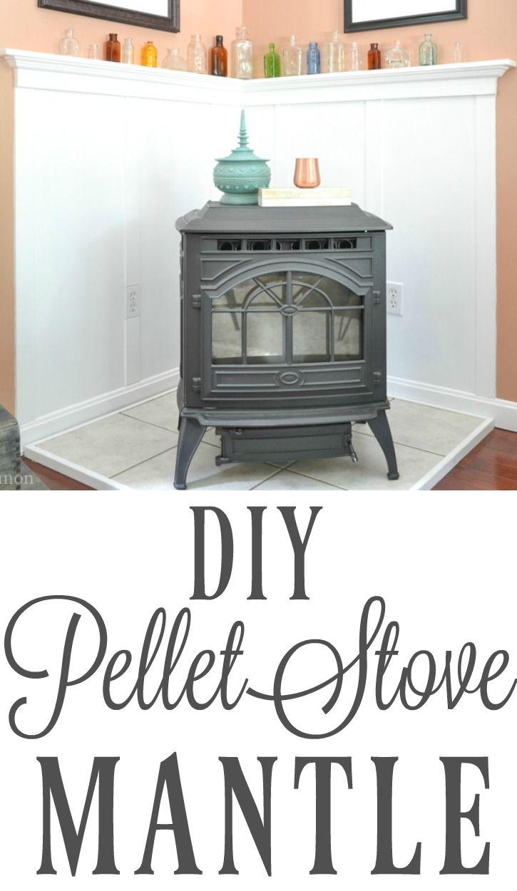 Pellet Stove Mantle | Pellet stove, Mantelpiece and Cooker