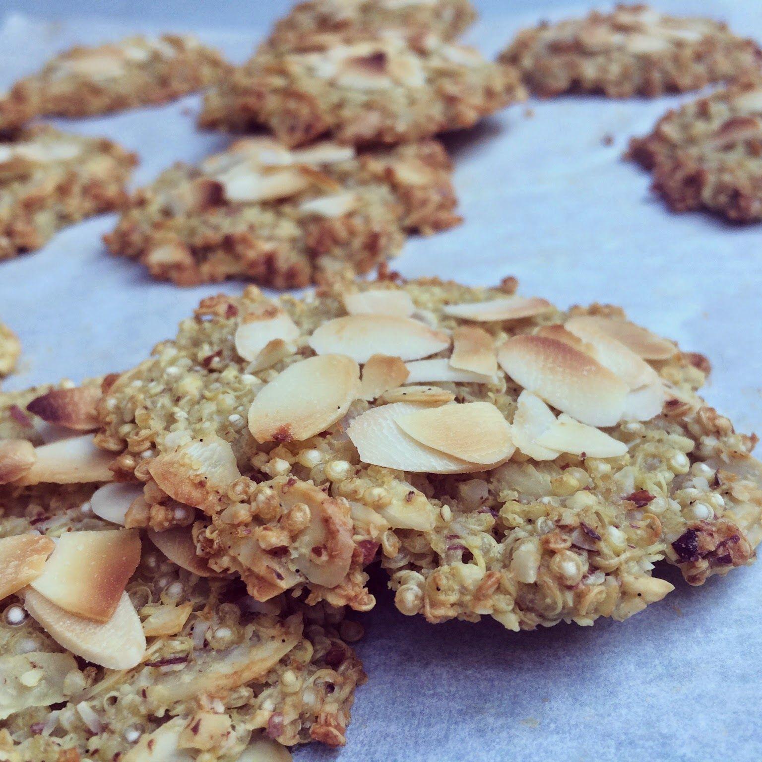 Palets de quinoa aux amandes en 2019 recette biscuit - Recettes cuisine sans gluten ...