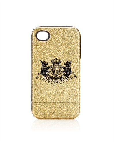 Juicy Couture - GLITTER IPHONE 4 CASE  $28.00