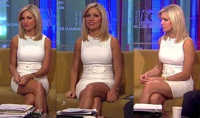 Ainsley earhardt white dress