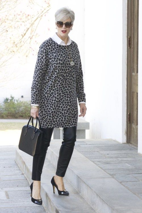 Leapin Leopard Styleatacertainage Winter Inspiration