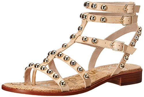 3afde76da15 Sam Edelman Womens Eavan Gladiator Sandal Natural Naked 75 M US   Learn  more by visiting the image link.(This is an Amazon affiliate link)
