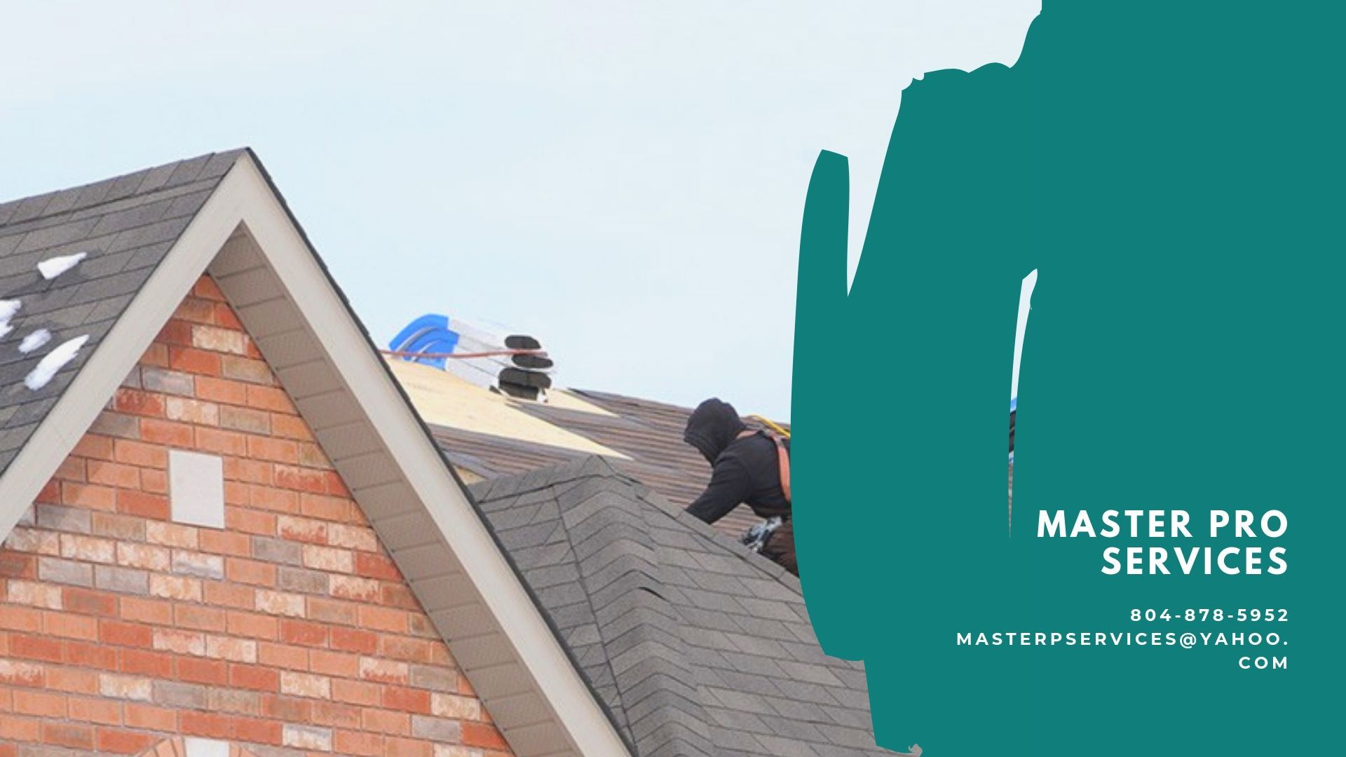 Master Pro Services Prides Itself As Specialized Professional Roofing Company In Richmond Va We Have Been Ins Professional Roofing Residential Roofing Roofing