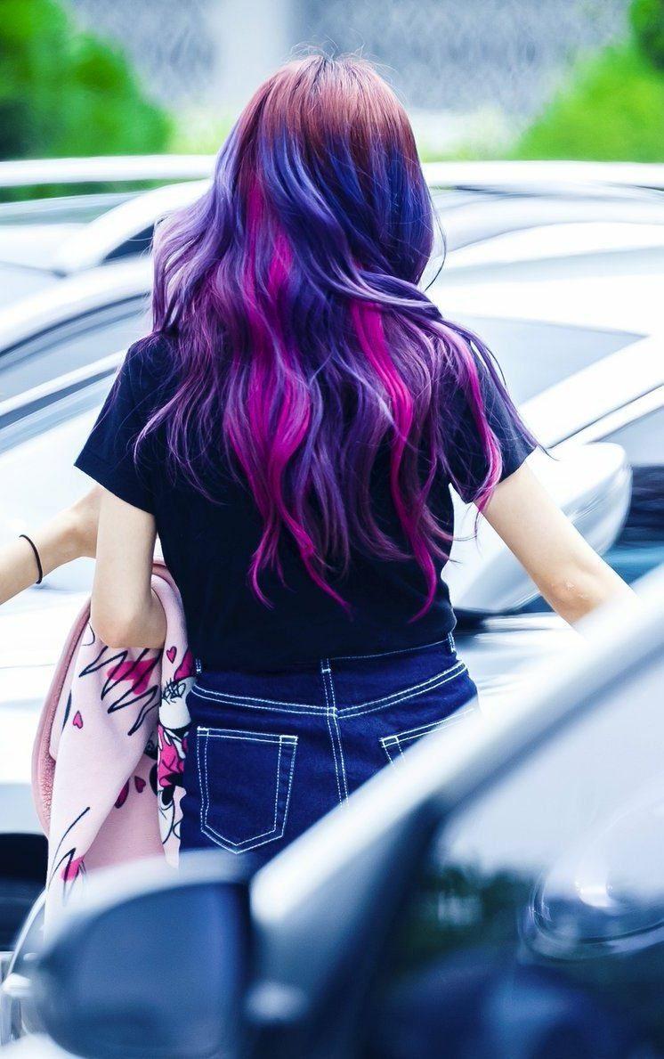 Blackpink Jisoo S Purple Hair Faded And It Looks Even Better Koreaboo Cabelo Roxo Cabelo Azul E Rosa Cabelo Roxo E Rosa