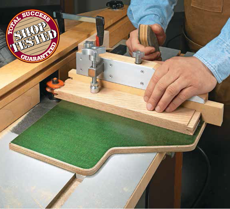 Router table sled woodworking tech tools jigs for Wood router and table