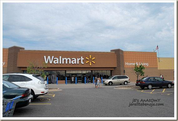 Walmart http://www.jerelltabenoja.com/2010/12/walmart-rainbow-and-mall-of-america.html