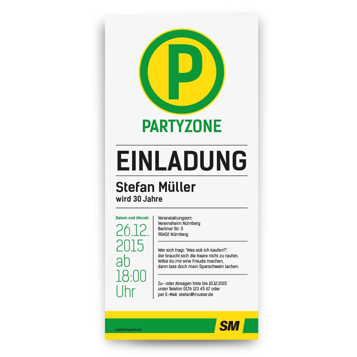 Einladungskarten Als Haltestellenschild :) #einladungskarten #einladung # Party #geburtstag #kartenmachende