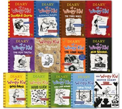 Diary of a wimpy kid collection 13 books set by jeff kinney cannen diary of a wimpy kid collection 13 books set by jeff kinney solutioingenieria Images