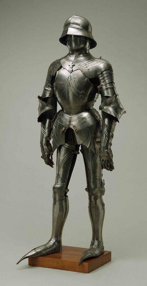 Gothic Armor by Lorenz Helmschmied, c. 1485