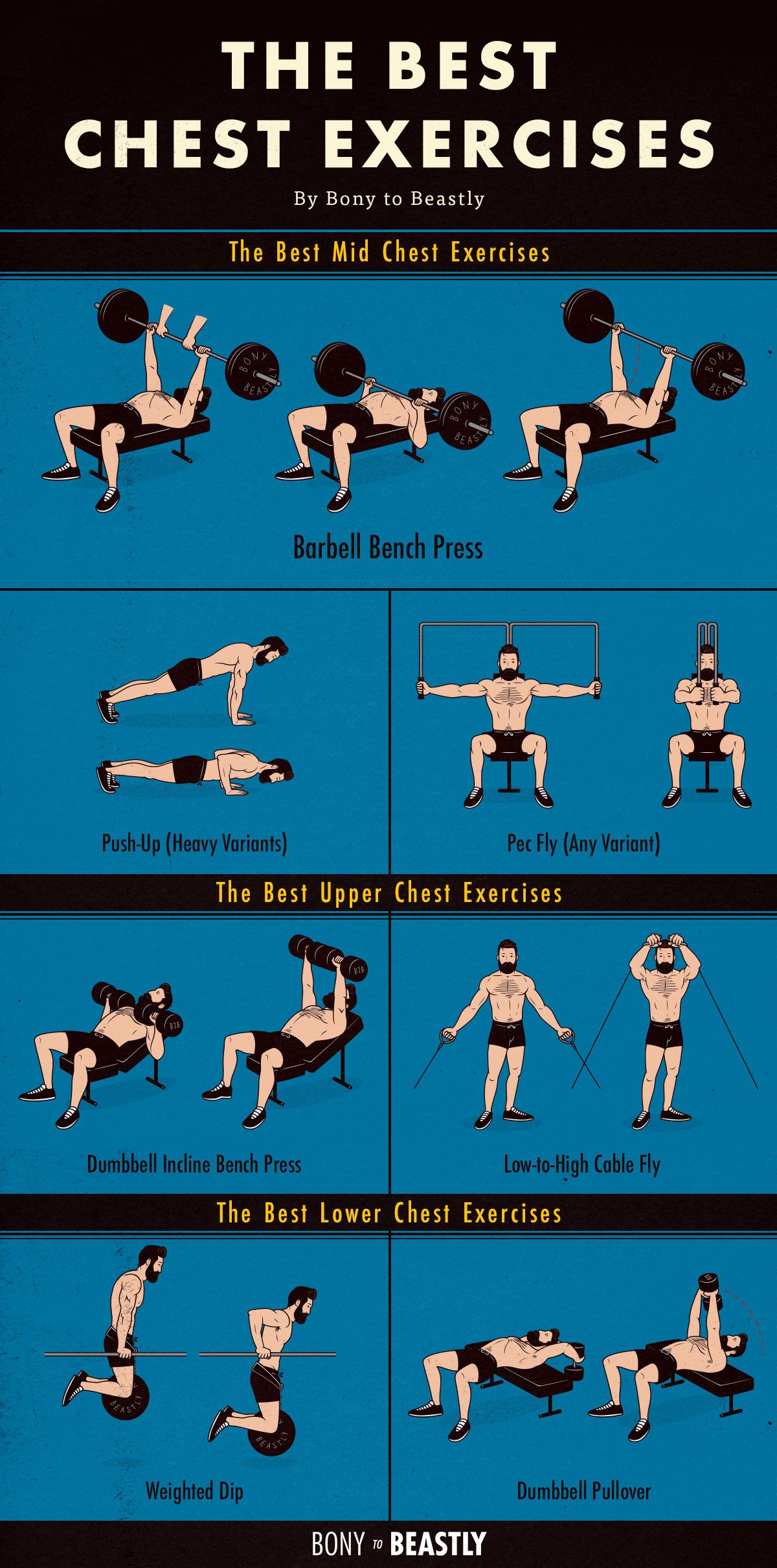 Mid Upper Chest Workout Full Body Workout Blog