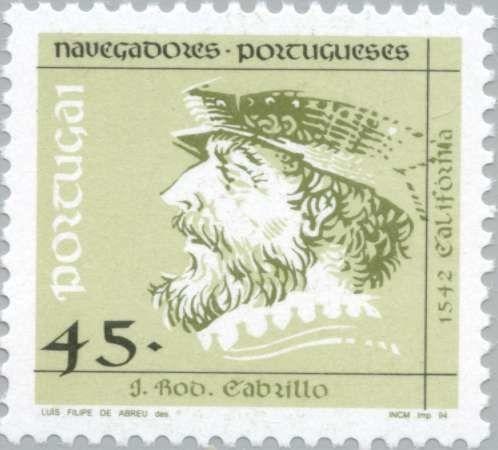 Stamp: J. Rod. Cabrillo (Portugal) (Navigators) Mi:PT 2008,Afi:PT 2196