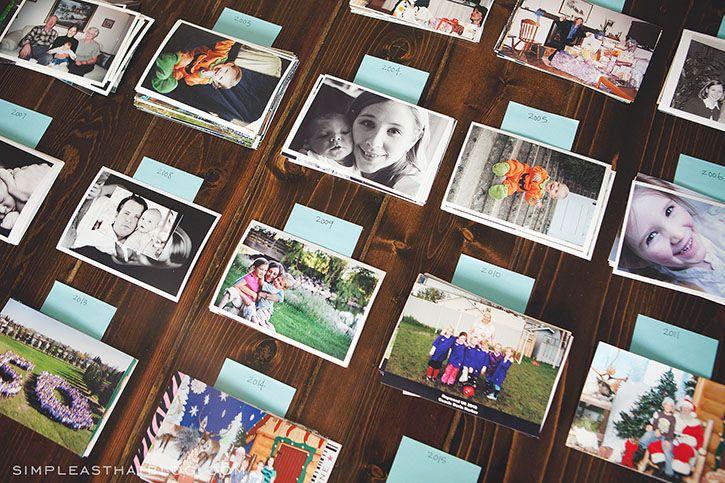 Part 2 Organizing Printed Photos Organisation