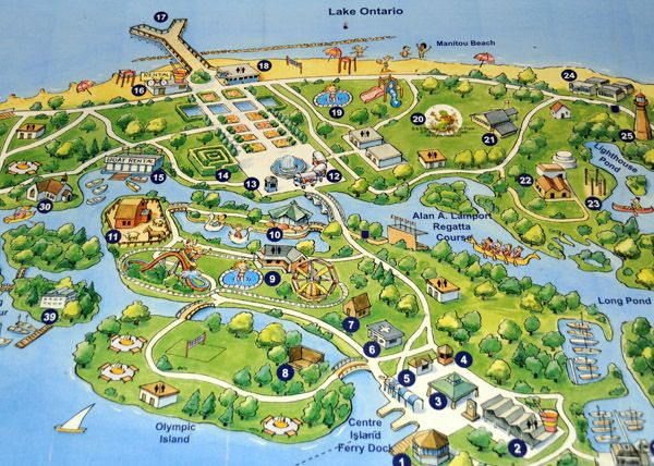 Free Things To Do On Toronto Islands Centre Island Voyage A