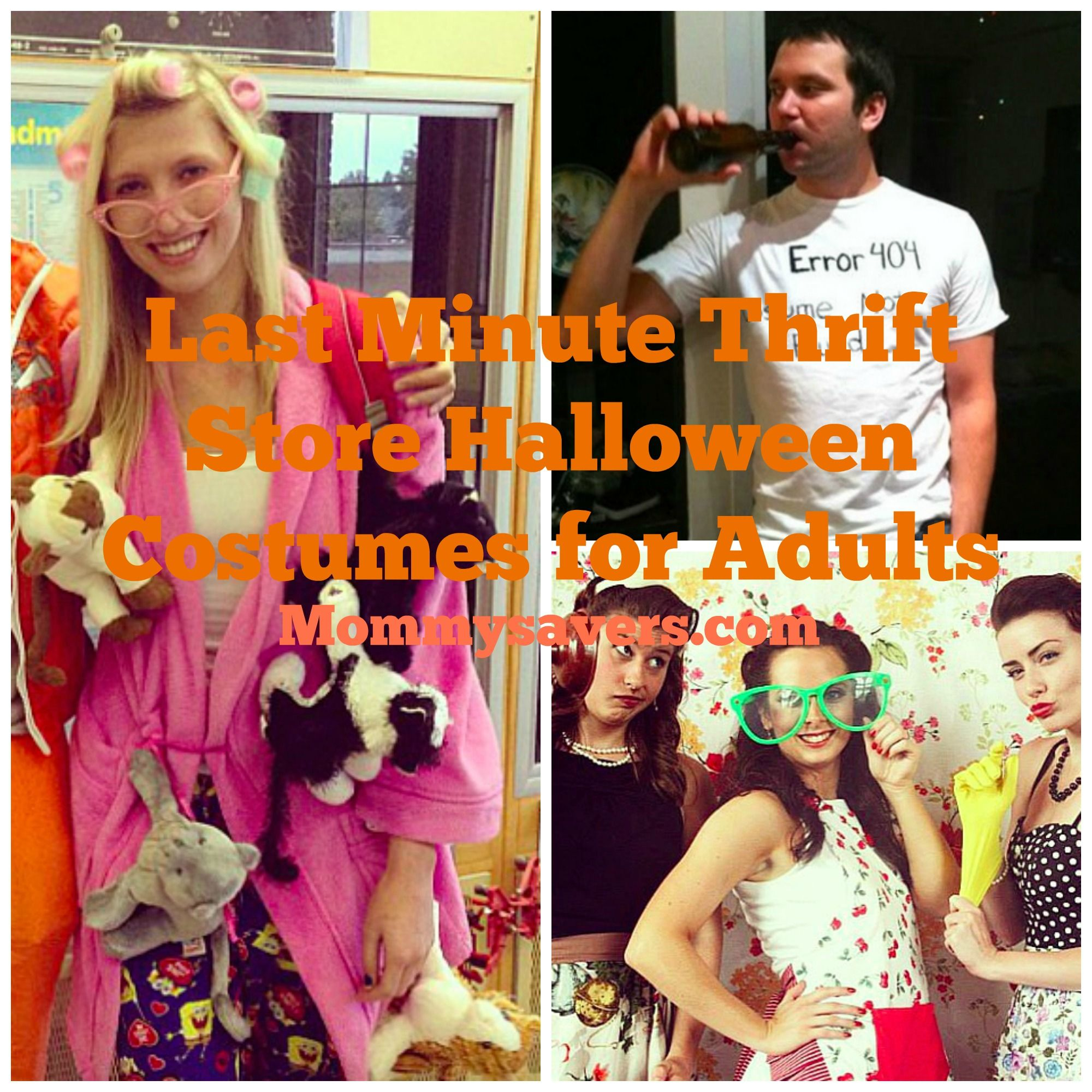 Last Minute Thrift Store Halloween Costume Ideas For Adults With