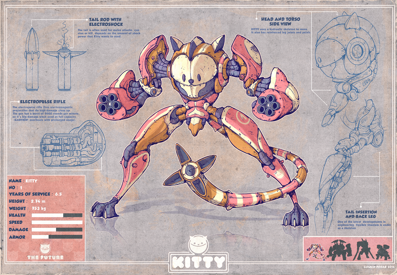 the art blog of cosmin podar: P.A.W. Elite