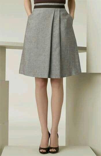Faldas Ropa Vestidos Tablones Asimétrica Y Pinterest Falda Adqd4g1v