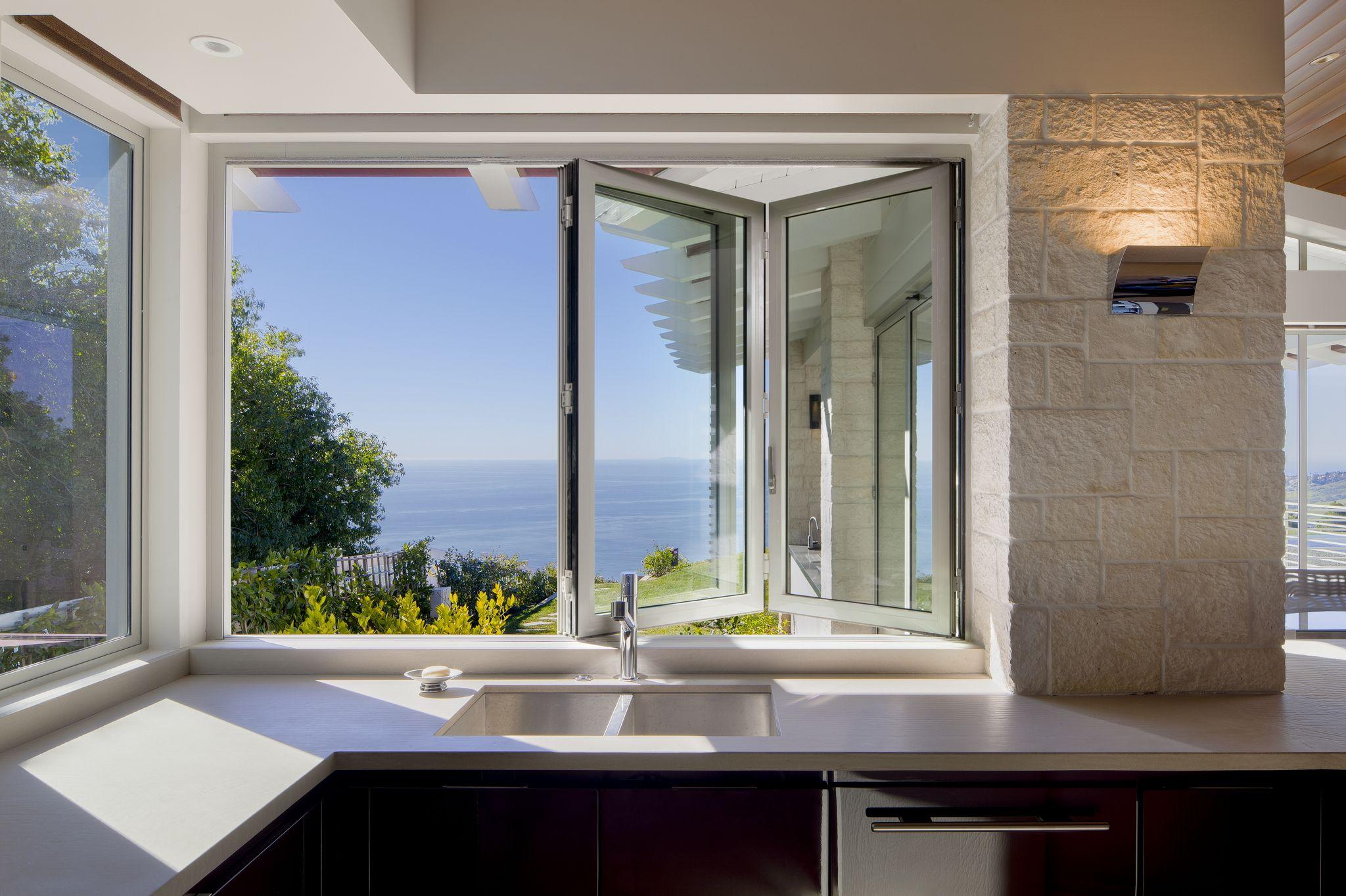 NanaWall SL45 Residence | Muk House Ideas | Glass wall
