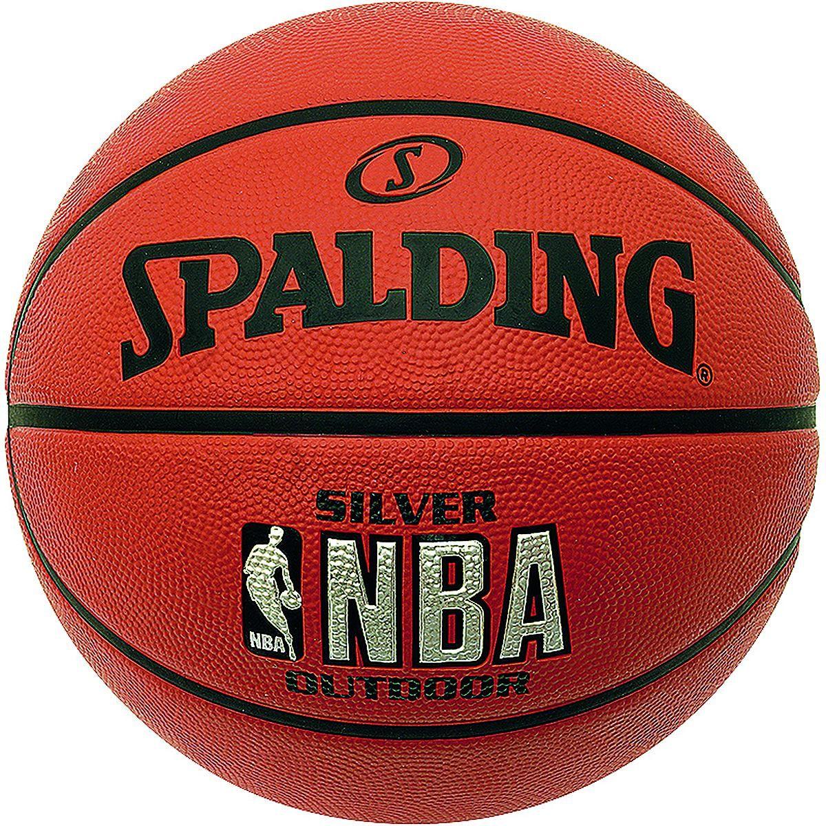 NBA Silver Outdoor Basketball    Top Spieleigenschaften    Details:  Exzellenter Grip und sehr gute Ballkontrolle    Geschlecht: Unisex  Größe: 5  Material: Gummi  Sportart: Basketball...