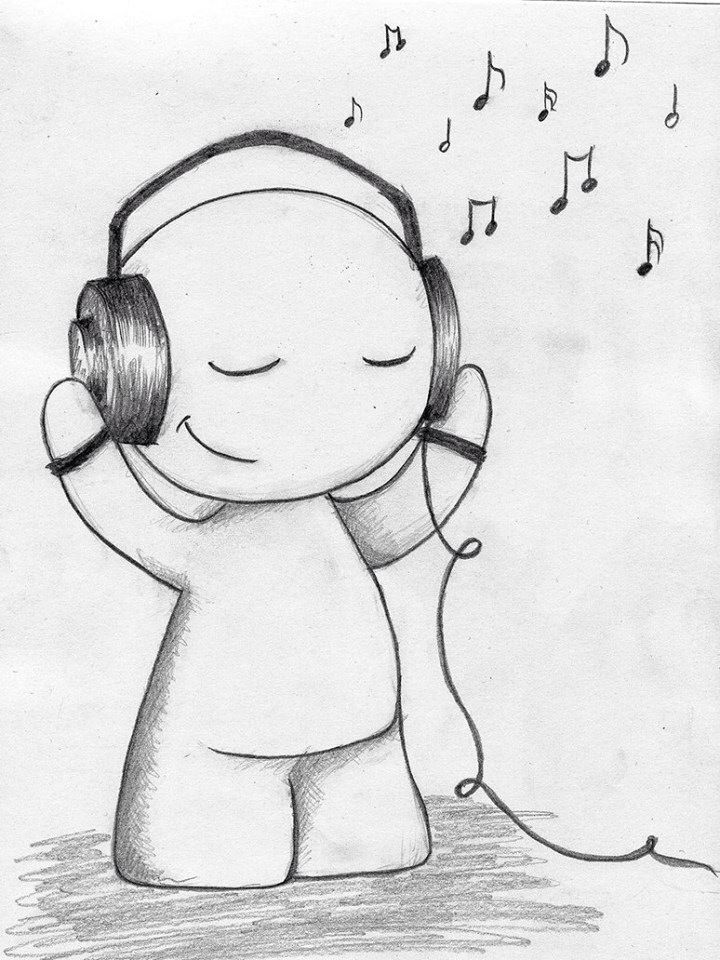 Music Is My Happy Place Easy Drawings Sketches Music Drawings Cool Drawings