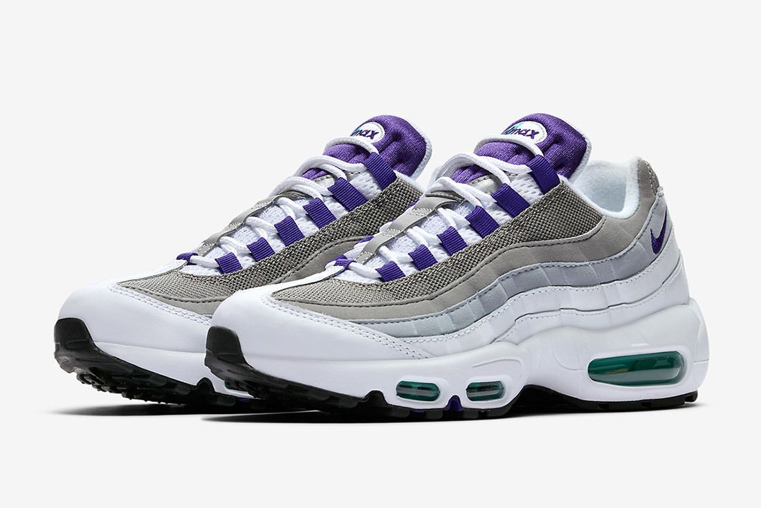 innovative design 0f722 ad9dc The Nike Air Max 95  Grape  Returns! - Sneaker Freaker