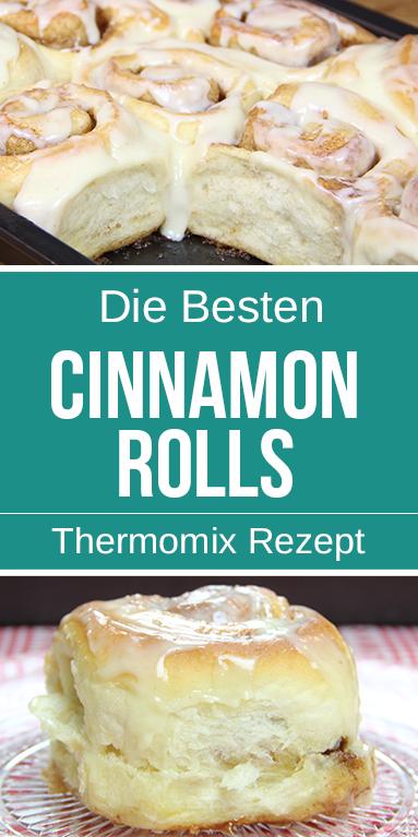 Photo of Amerikanische Cinnamon Rolls mit Frischkäse Topping – Einfach Himmlisch.