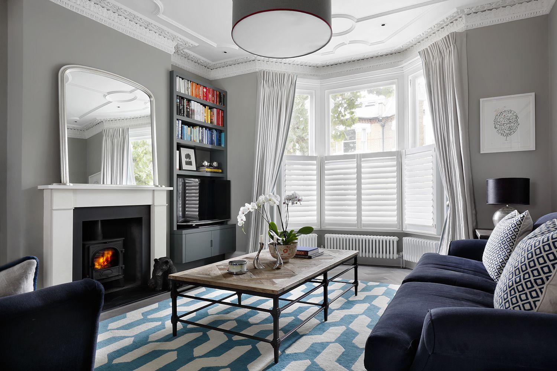 London Villa Drawing Room By Amid Interior Design Interior