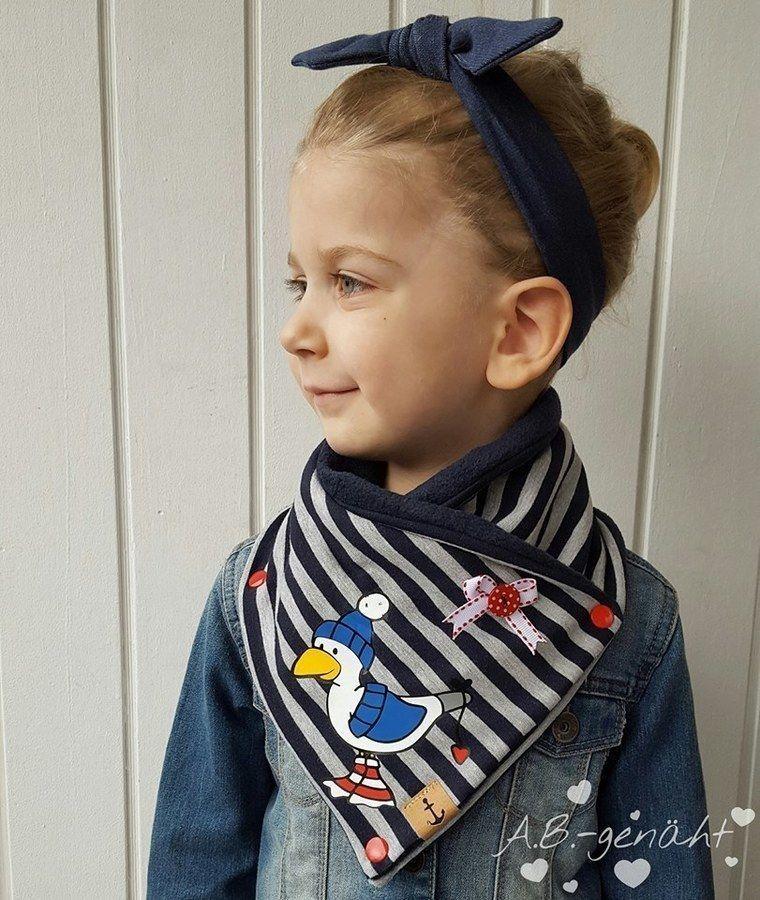 Wickelschal - Zippel Junior in 5 Größen - Nähanleitung und Schnittmuster #weihnachtsmarktideenverkauf