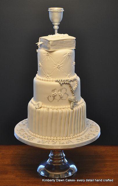 First Communion Cake Tartas Religiosas Tartas De Confirmacion