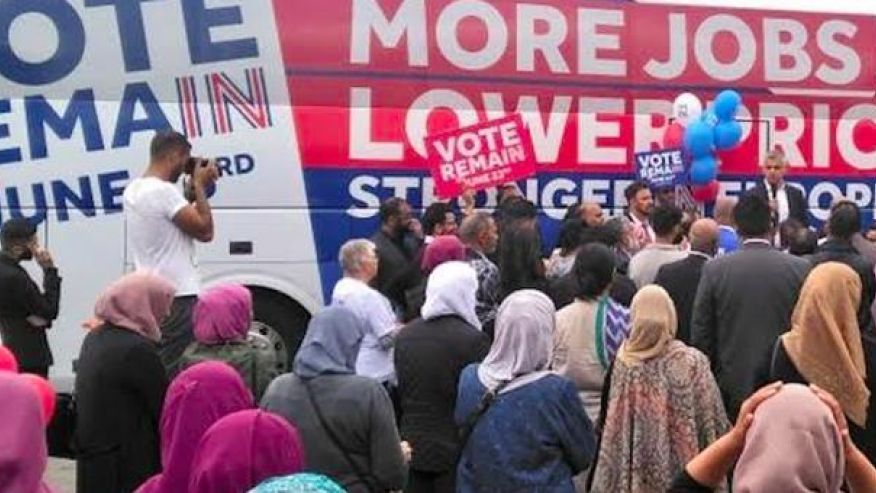 Welcome to Londonistan: Women Segregated From Men at London Mayor's Rally | Truth Revolt