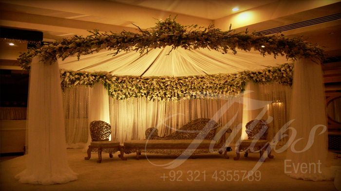 Best Pakistani Wedding stage Decoration Planner in Lahore