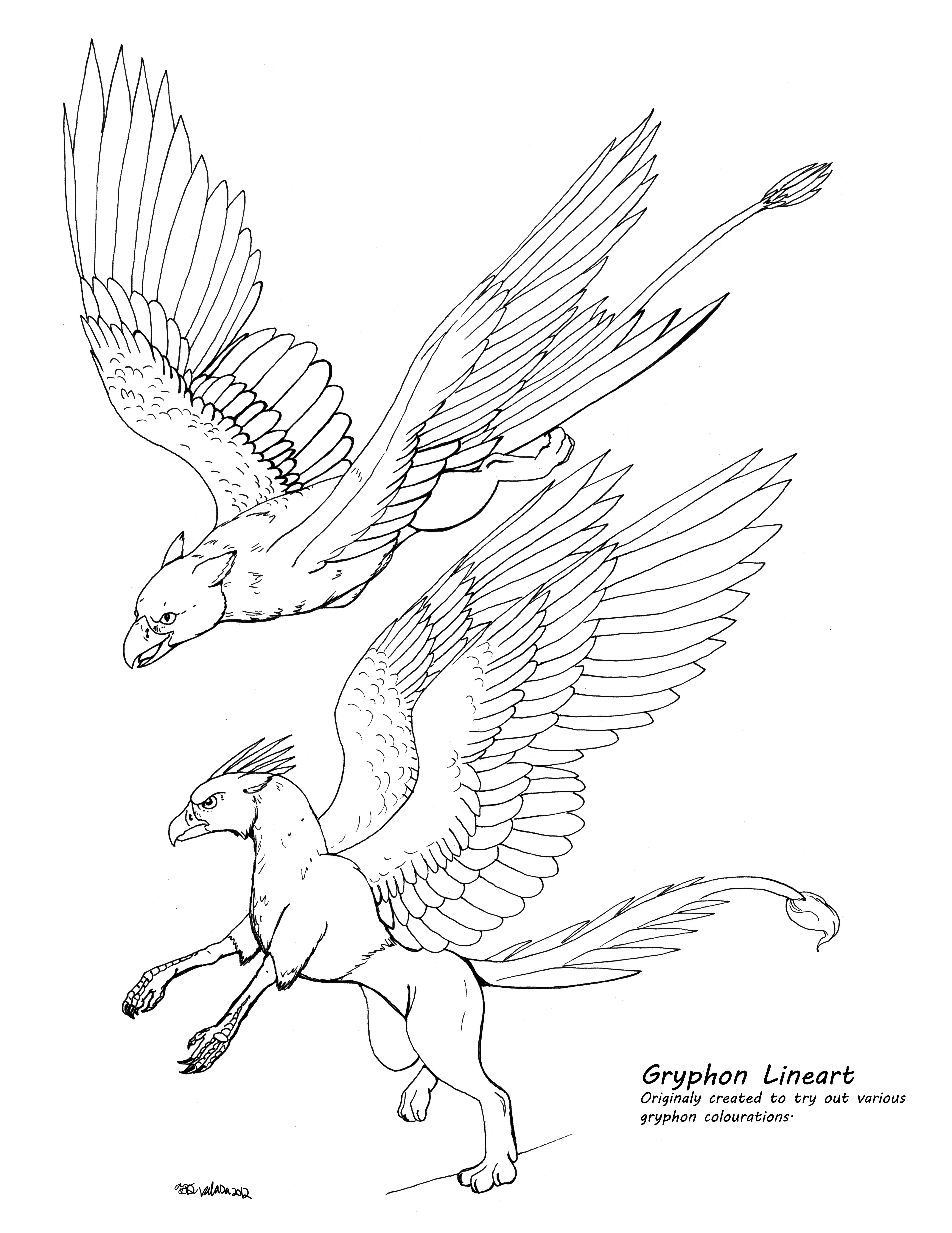 drawing a gryphon - Google Search | { art } | Griffin ...