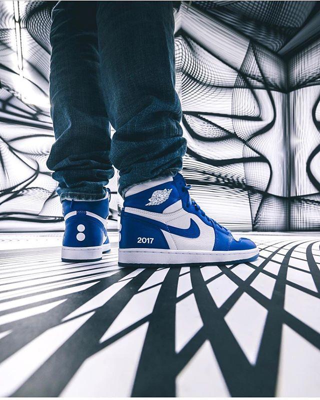 Colette x Nike Air Jordan 1 Au Revoir (met afbeeldingen)