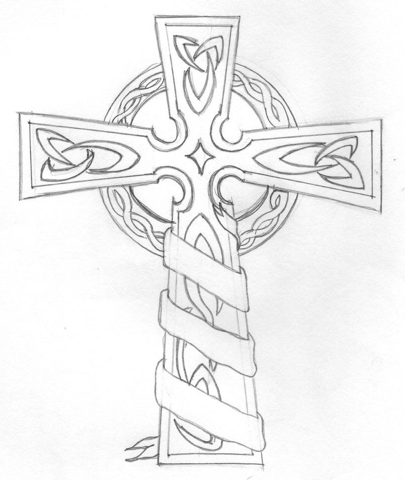 D On Cross Coloring Page