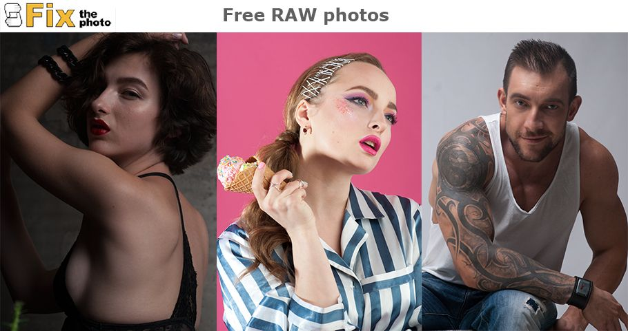 Download raw images for practice