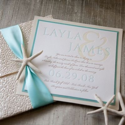 Take A Look At The Best Beach Wedding Invitations In Photos Below And Get Ideas