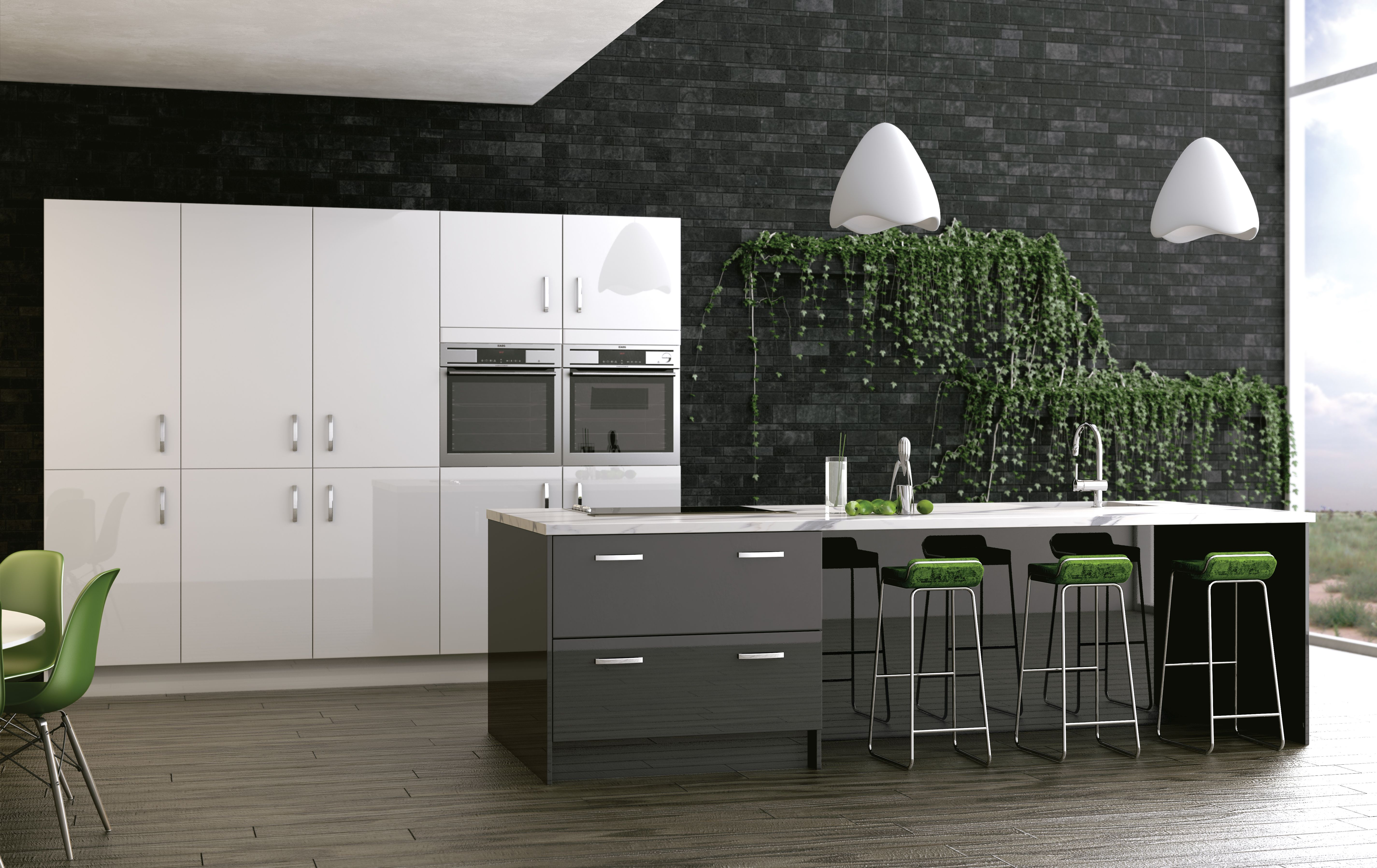 Woodbury Anthracite and White - the very latest on trend finish is ...