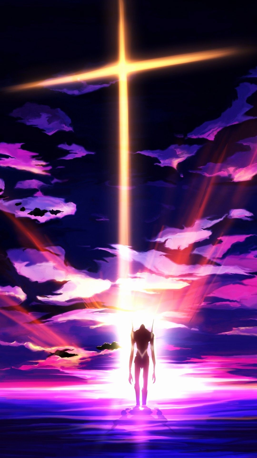 Neon evangelion image by Afzal on anime wallpaper in 2020