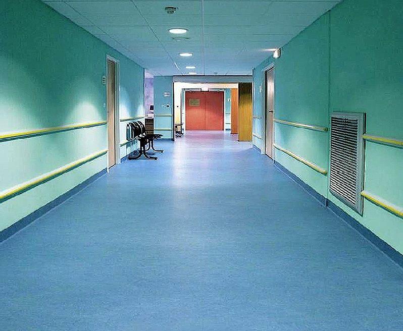 Blue Luxury Homogeneous For Hospital Pvc Flooring Plastic Floor Tiles Vinyl Flooring