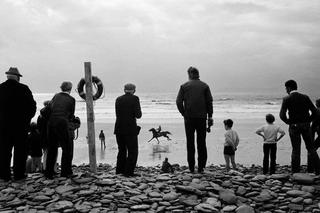 County Kerry, Glenbeigh Races, 1983    Martin Parr