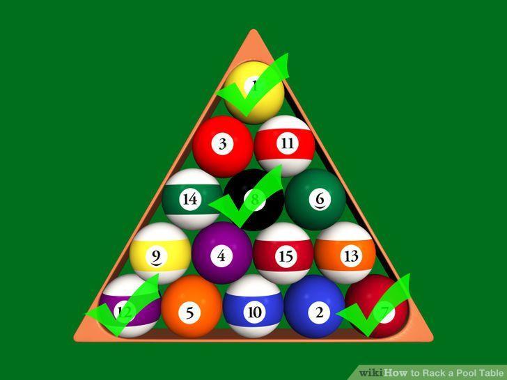 How To Rack A Pool Table Pool Balls Pool Table Pool Table Games
