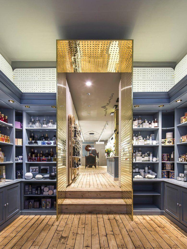 Profumeria artistica acque saponi bologna 2014 sara bergami luca bertacchi store - Interior designer bologna ...